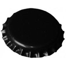 Korunkový uzáver - čierny