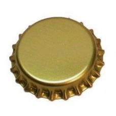 Korunkový uzáver - zlatý